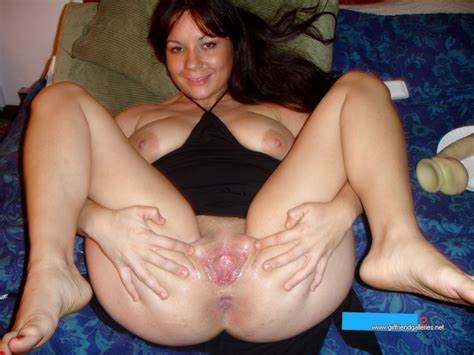Bodies Spreads Her Legs And Takes A Dildo