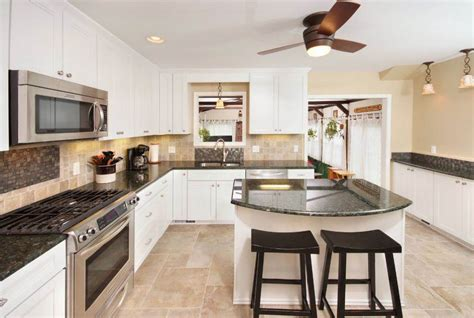 contemporary kitchen cabinets white напольная плитка для кухни 24 фото 5701