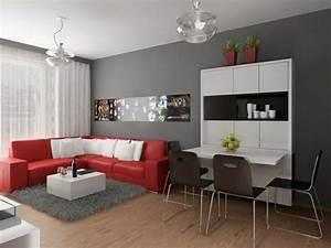 Rotes Sofa Welche Wandfarbe : 1001 ideen f r wandfarbe graut ne f r die w nde ihrer wohnung ~ Bigdaddyawards.com Haus und Dekorationen