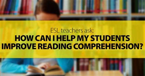 esl teachers       students improve