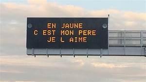Panneau Lumineux Message : des messages d 39 automobilistes pour sensibiliser les conducteurs sur l 39 autoroute ~ Teatrodelosmanantiales.com Idées de Décoration