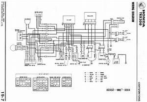 1982 Honda Trx 200 Wiring Diagram