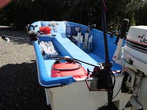 livingston boat excellent condition