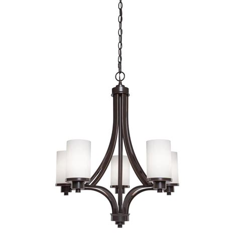 rubbed bronze chandelier filament design archieroy 5 light rubbed bronze