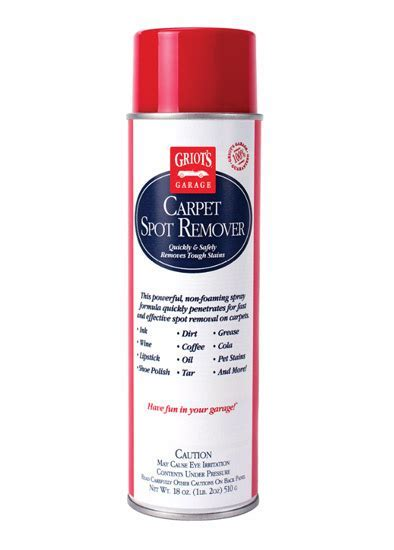 Griot's Garage Carpet Spot Remover