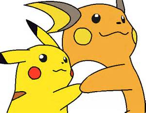 Pikachu and Raichu Love
