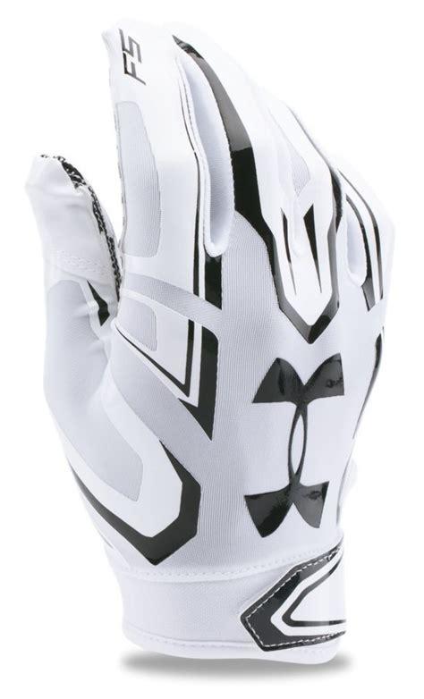 armour mens ua  football gloves high ground sports