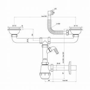 Diametre Evacuation Baignoire : diametre evacuation lave vaisselle table de cuisine ~ Nature-et-papiers.com Idées de Décoration
