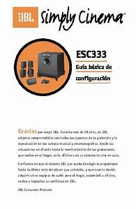 Jbl Esc 333 Sub  Serv Man5  User Guide    Operation Manual