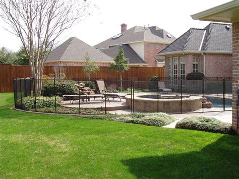 pool fence landscaping ideas poolside landscape design ideas