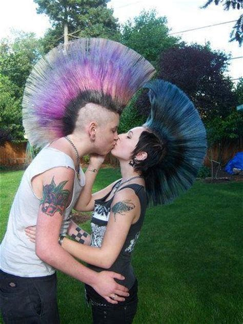 Pastel Mohawks Punk Love Hawk Swag For Noah