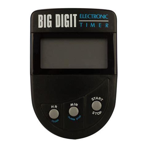 Bid Electronics Dateline Professional Big Digit Electronic Timer Home
