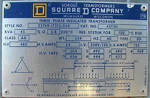 Diagram  Wiring Diagram 208v 480v Dry Type Transformers