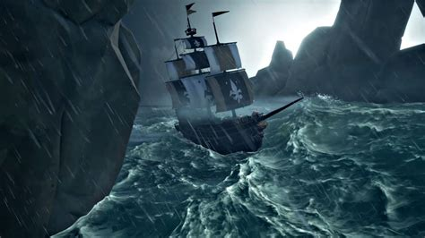 sea  thieves releases    scenes video   games storm systems