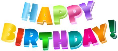 multicolor happy birthday transparent png clip art image gallery