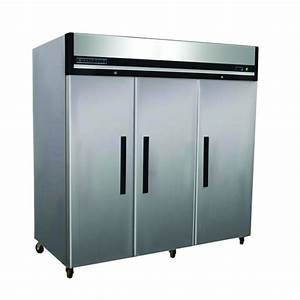 Maxx Cold X-Series 72 cu. ft. Triple Door Commercial Reach ...