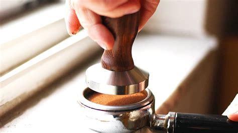 The Importance Of Coffee Tamping For A Perfect Espresso Denny's Coffee Caffeine Content Of Beans Jet Fuel K Cup Grinder Medium Iced Blend Starbucks Cups Coupons Taylors Arabica