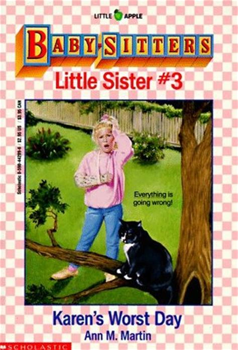 karens worst day baby sitters  sister   ann  martin reviews discussion