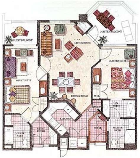 floor plans maker marriott 39 s shadow ridge vacation villas resort
