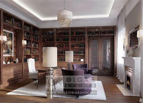 Study Of Interior Design - дизайн кабинета в стиле арт деко