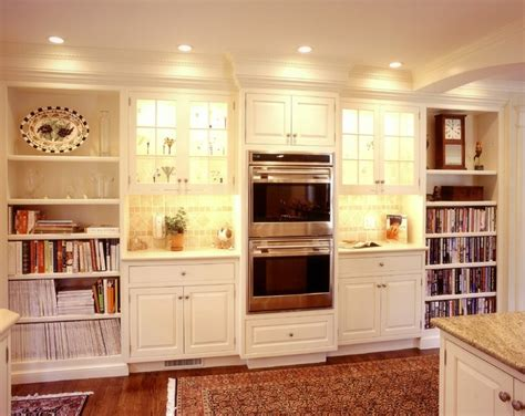 lighted kitchen cabinets kitchen built in shelves traditional kitchen other 3767