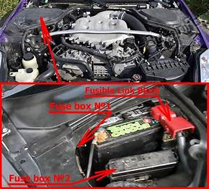 Fuse Box Diagram Nissan 350z  2003