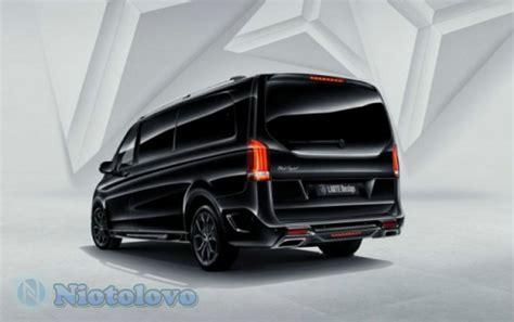 Modifikasi Mercedes V Class by Kemewahan Modifikasi Mercy V Class Black Ibarat Istana Di