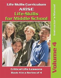 Life Skills For Middle School Volume 4 Healthy Life