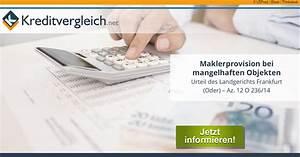 Mietwohnung Frankfurt Oder : makler m ssen provisonen zur ckgeben wenn k ufer zur cktreten ~ Buech-reservation.com Haus und Dekorationen