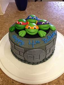 241 best TM Ninja Turtle Cakes images on Pinterest | Conch ...