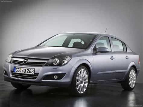 Opel Astra Sedan (2007) picture #27, 1600x1200