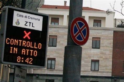 Comune Di Pavia Ufficio Traffico by Il 1 176 Settembre Partono A Cremona Sia La Nuova Ztl Le