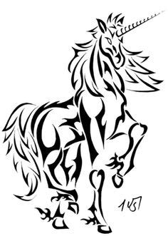 easy coloring pages of unicorns to print | Unicorn