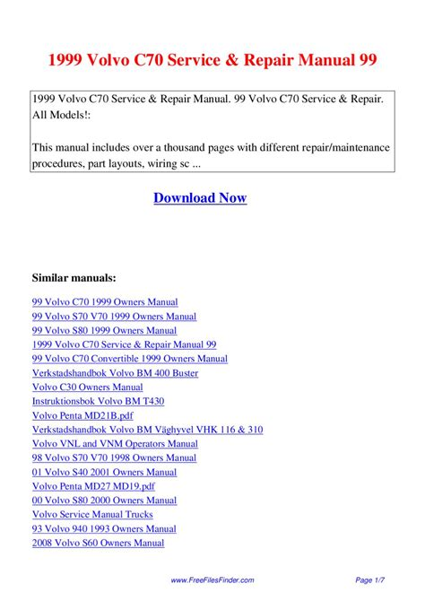 volvo  service repair manual   hong lii issuu