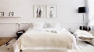 Deco Chambre Blanche : 30 inspirations d co pour la chambre blog d co mydecolab ~ Zukunftsfamilie.com Idées de Décoration