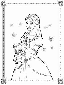 Barbie Coloring Pages For Girls | Realistic Coloring Pages