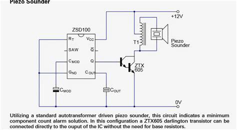 Alarm Signal Generator Zsd Datasheet Application