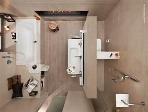 Kleine Moderne Badezimmer : pin von julia nussrainer auf badbeispiele pinterest badezimmer kleine b der und g ste wc ~ Sanjose-hotels-ca.com Haus und Dekorationen