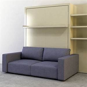 the swing is a self standing queen size murphy bed with a With wall bed with sofa india