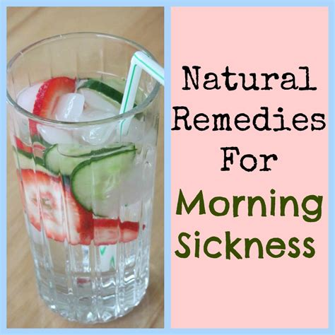 Morning Sickness Remedies Health For Her