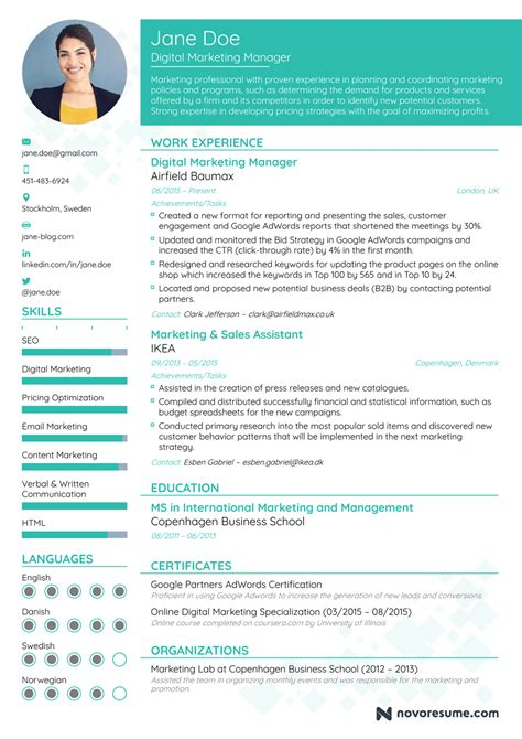 21403 resume templates and exles resume exles resume template easy http www