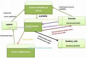 Data Flow Diagram  Dfd   Parts  Examples And Symbols