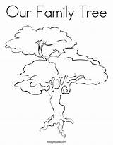 Tree Simple Coloring Pages Drawing Printable Children Twisty Getcolorings Popular Animals sketch template