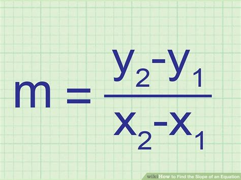 ways  find  slope   equation wikihow