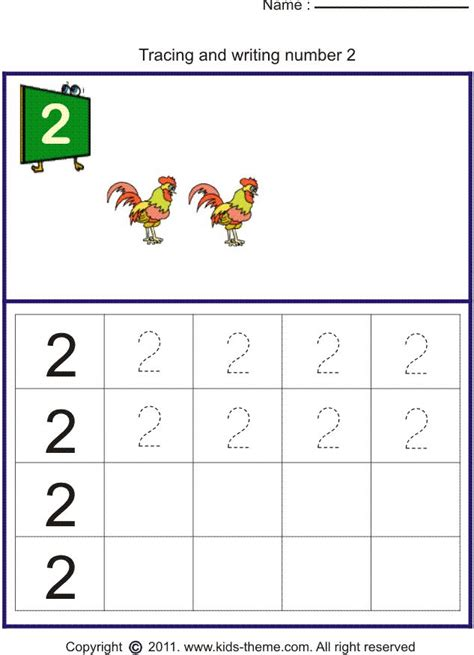 print  number worksheets  writing number trace