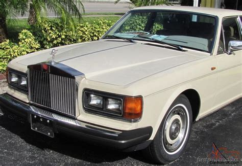 luxury cars rolls royce classic 1986 rolls royce silver spirit luxury car 73k
