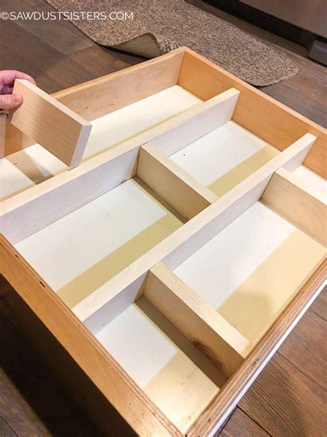 Diy Kitchen Drawer Organizer by Easy Diy Drawer Divider Insert For The Home Diy
