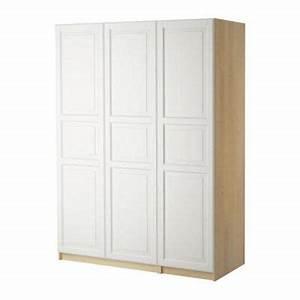 Ikea Pax Birke : pax garderobe med 3 d re birkeland hvid birk 150x37x236 cm s49861234 anmeldelser ~ Yasmunasinghe.com Haus und Dekorationen