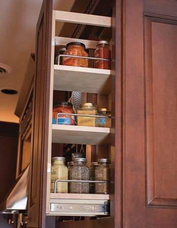 pull  spice rack upper cabinet  wide