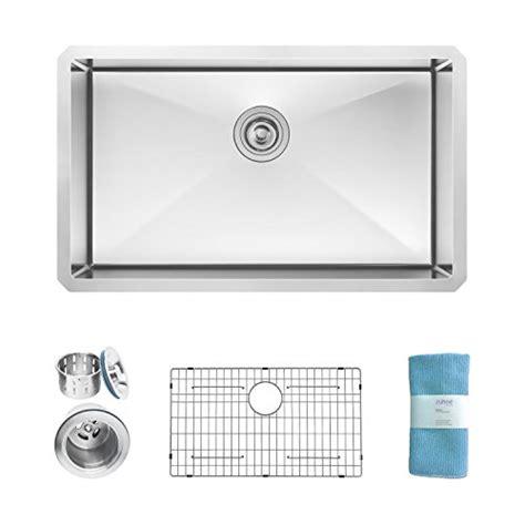 undermount kitchen sink for 30 inch cabinet zuhne modena 30 inch undermount single bowl 16 9814